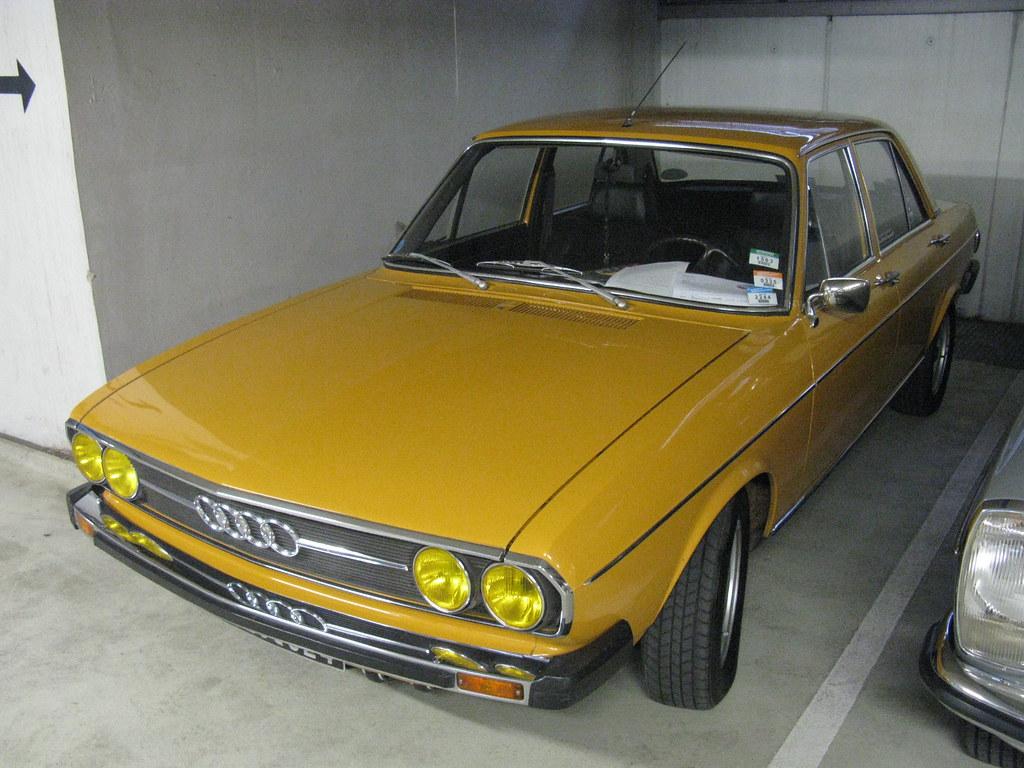 Audi 100 L 1976 live