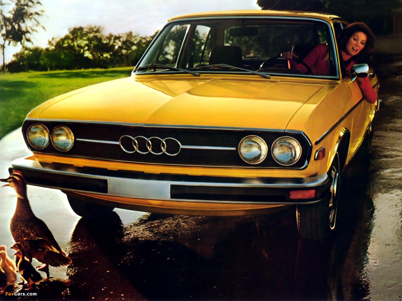 Audi 100 Ls 1976 autowpaper com audi-100-ls-1976-3