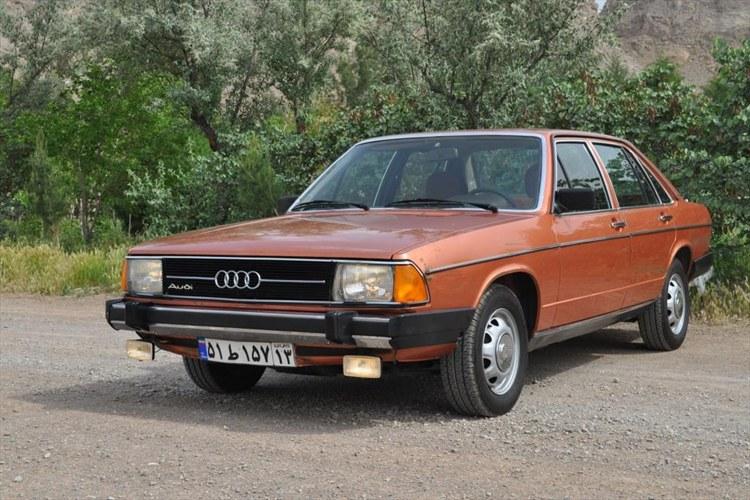 Audi 100 LS 1977 carphotos