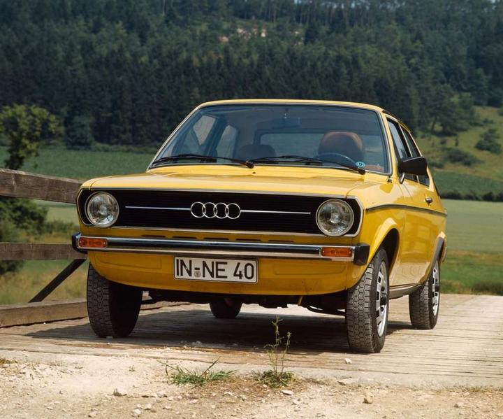 Audi 50 1973 alle-autos
