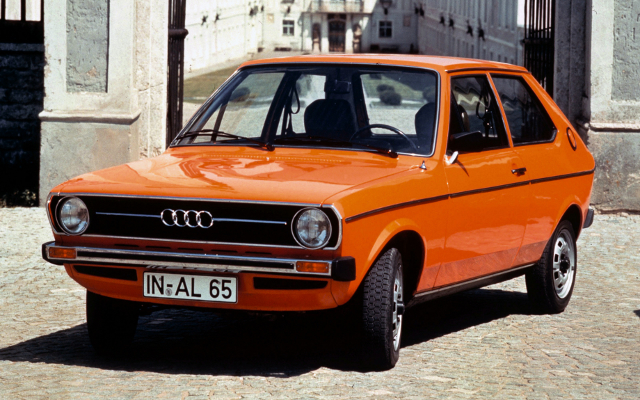 Audi 50 1974 carpixel