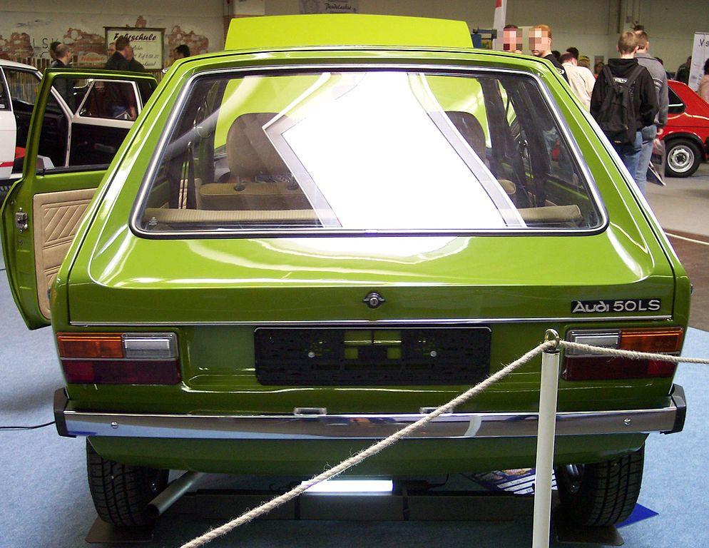 Audi 50 1974 commons