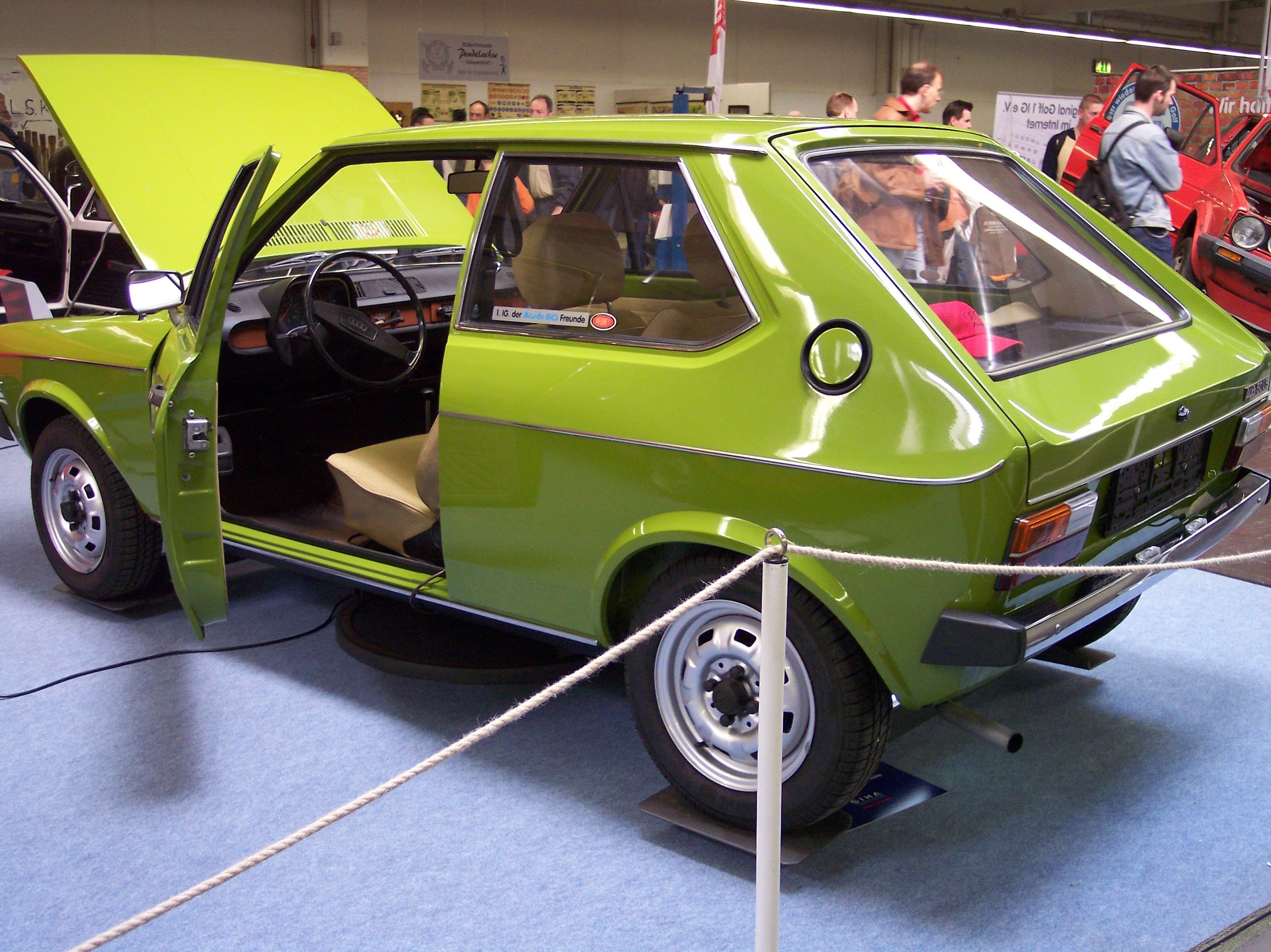 Audi 50 LS 1974 commons