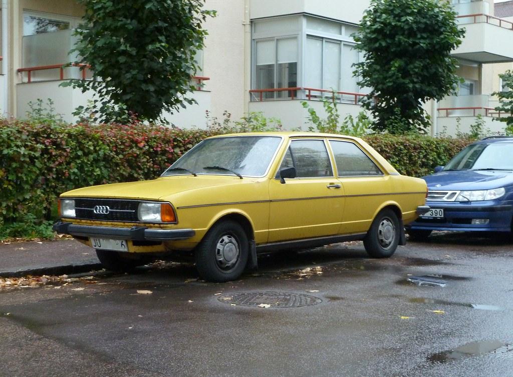 Audi 80 1977 fruttan-flickr com 6365533223_e7ce3f2dbc_b