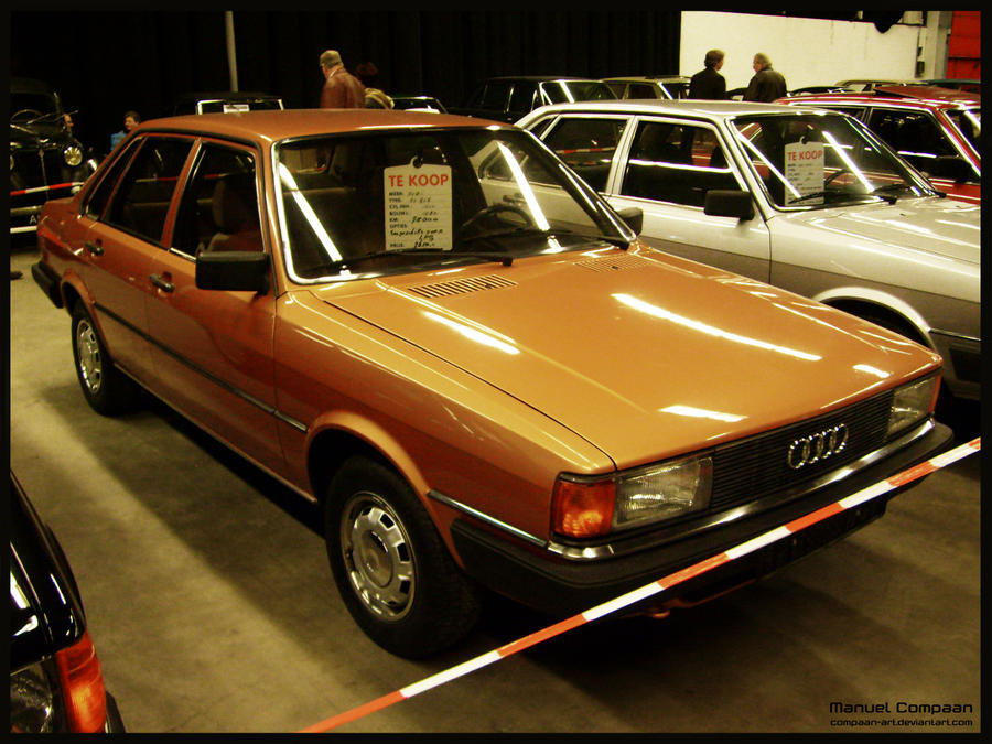 Audi 80 1980 compaan-art