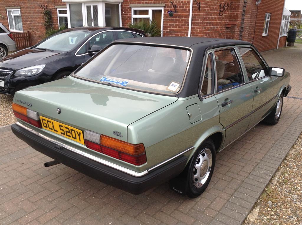 Audi 80 GL 1983 forum