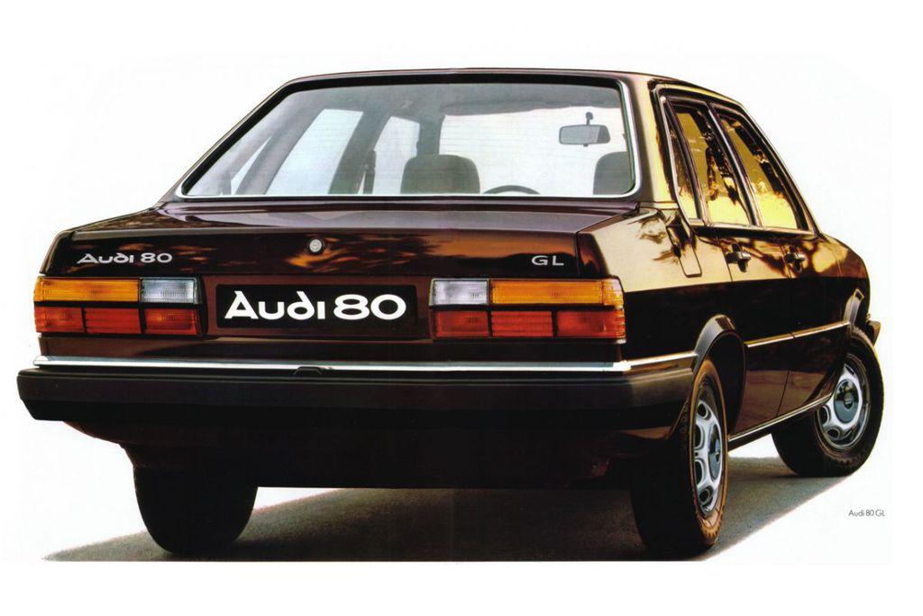 Audi 80 GL 1983  parts-specs