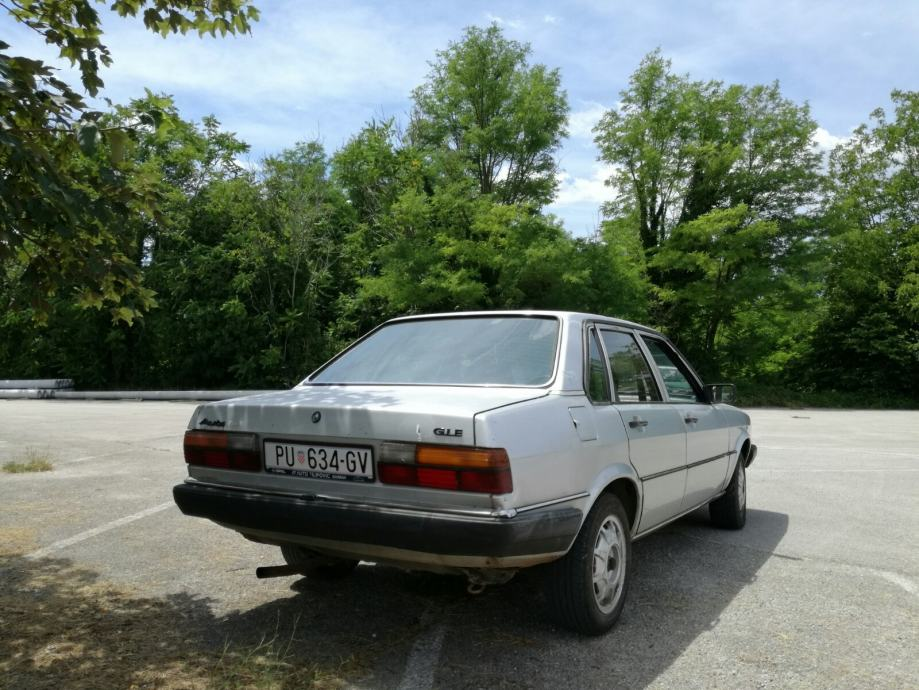 Audi 80 GLE 1979 njuskalo