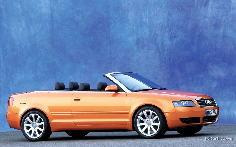 Audi A4 Cabriolet 2002 b77fcc32