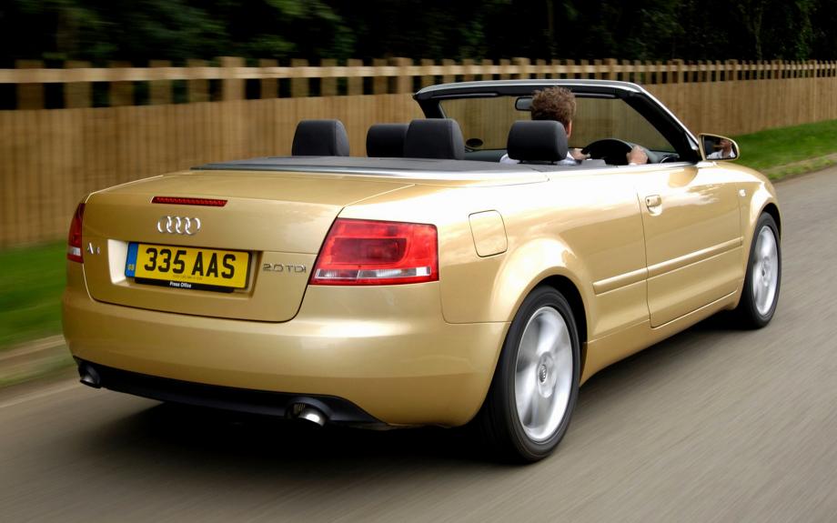Audi A4 Cabriolet UK 2004 carpixel
