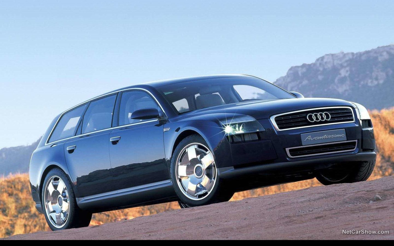 Audi Avantissimo Concept 2001 936e7adb