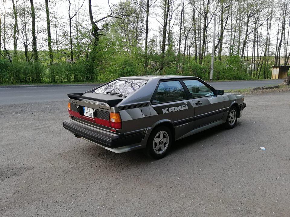 Audi Coupe GT 1983 archiwum