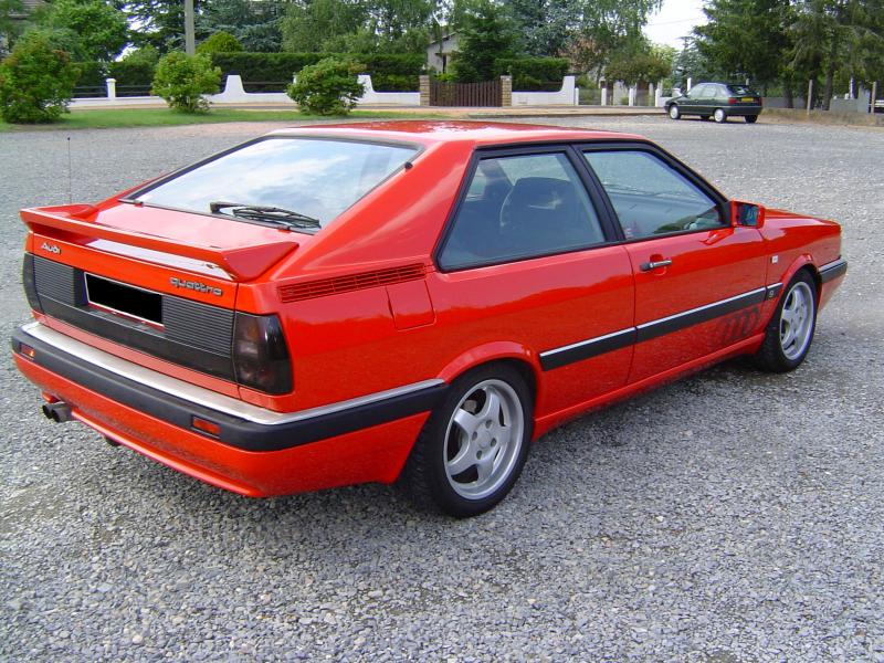 Audi Coupe GT Quattro 1985  france-troc com  xp87wv