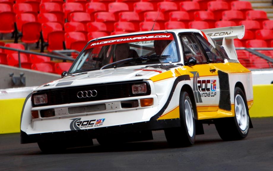 Audi Sport Quattro S1 Groupe B 1985 carpixel