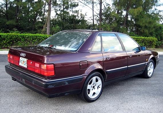 Audi V8 1990 germancarsforsaleblog com 1990 V82