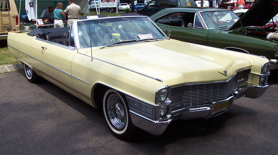 Cadillac Convertible 1965 -beige-re 1965