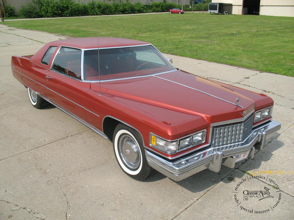 Cadillac Coupe Deville 1976 2c