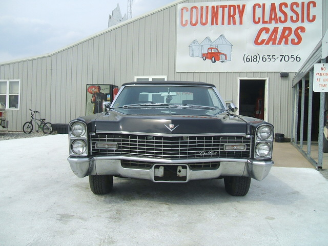 Cadillac Coupe Deville Convertible 1967 7056_6