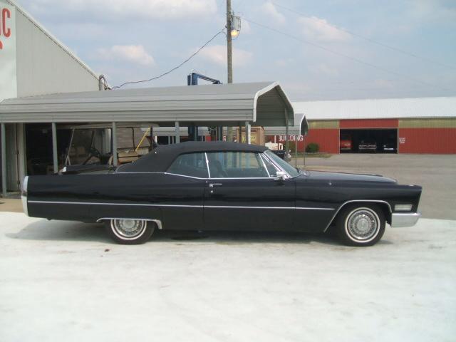 cadillac Coupe Deville Convertible 1967 7056_8