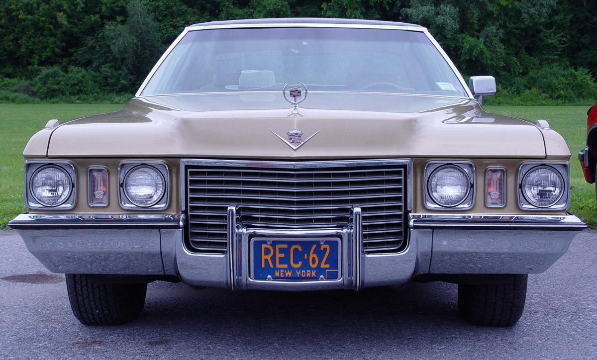 Cadillac DeVille Sedan 1971 -DeVille-PO 1971