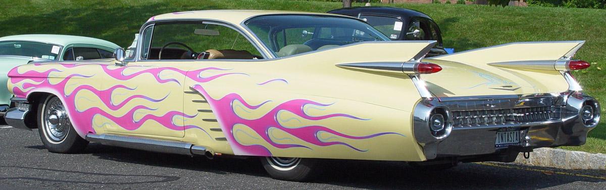 Cadillac Edorado Sevilla 1959 -Fintasia-ra-le 1959