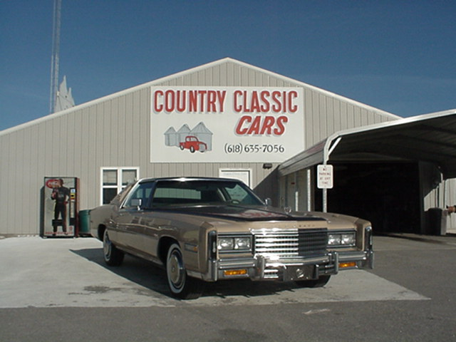 Cadillac Eldorado Biaritz 1976 3721_1 V8 $16