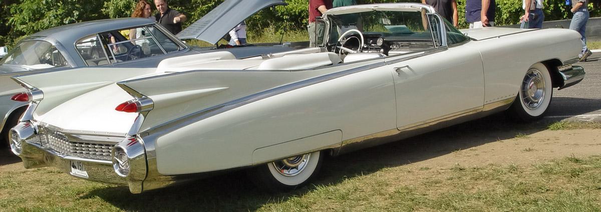 Cadillac Eldorado Biarritz Convertible 1959 white-ra-lr 1959
