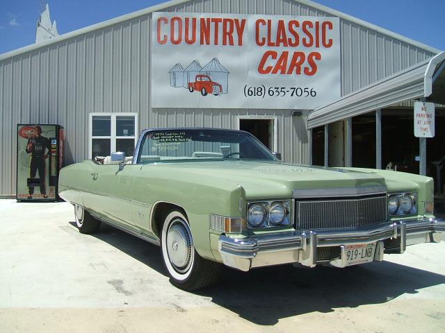 Cadillac Eldorado Convertible 1974 7010_1 501V8 $9