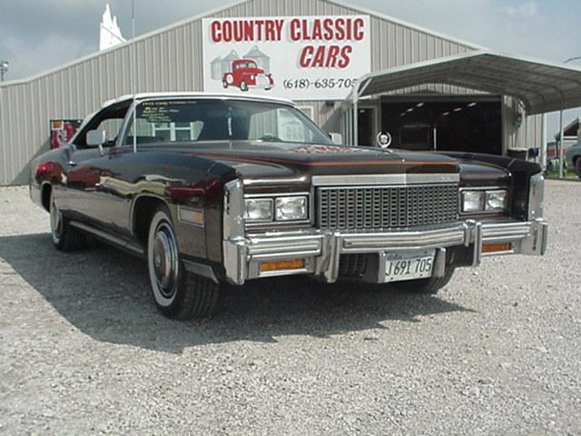 Cadillac Eldorado Convertible 1975 230_1 V8 $7