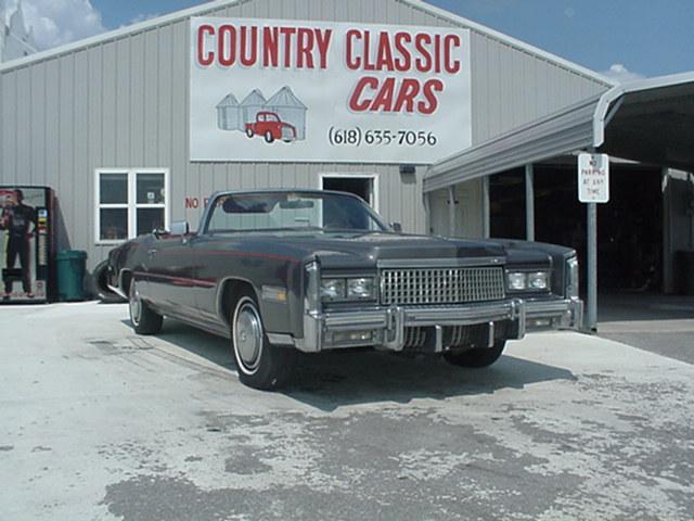 Cadillac Eldorado Convertible 1975 3995_1 V8 $4