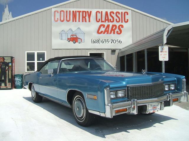 Cadillac Eldorado Convertible 1976 7092_1 V8 $7
