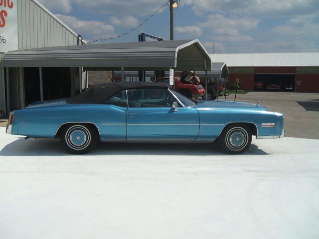 Cadillac Eldorado Convertible 1976 7092_8