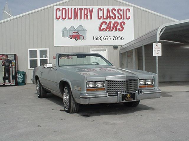 Cadillac Eldorado Convertible 1980 3239_1 V8 $4