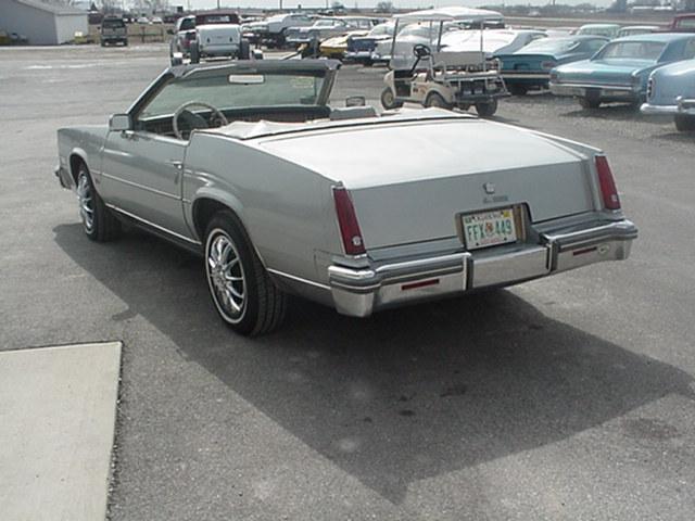 Cadillac Eldorado Convertible 1980 3239_3