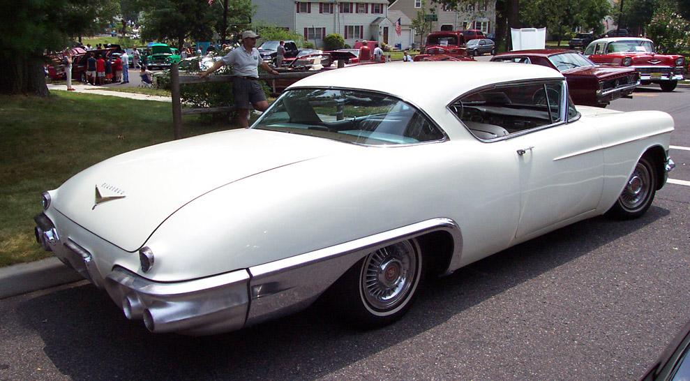 Cadillac Eldorado Seville 1957 -white-re-2 1957