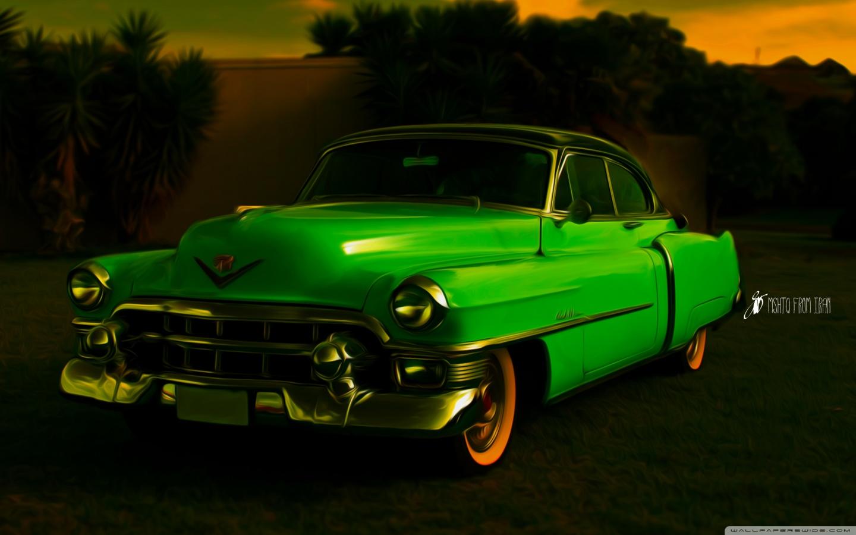Cadillac Fleetwood 1950 old_car_3-wallpaper-1440x900