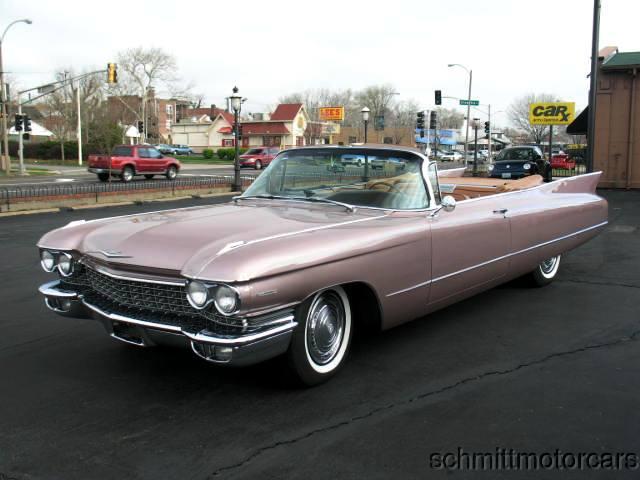 Cadillac Full 5 Convertible 1960 1