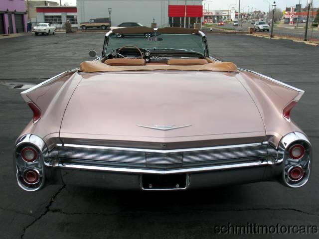 cadillac Full 5 Convertible 1960 4