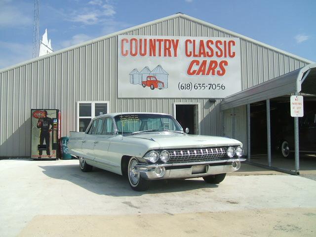 cadillac Sedan 4dr 1961 6982_1