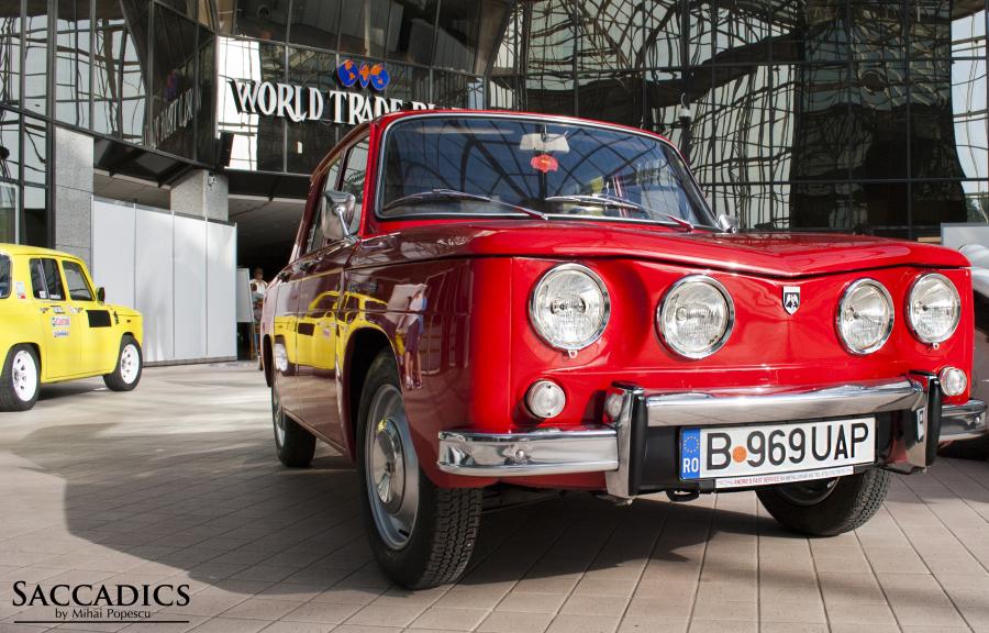 Dacia 1100 1968 saccadics