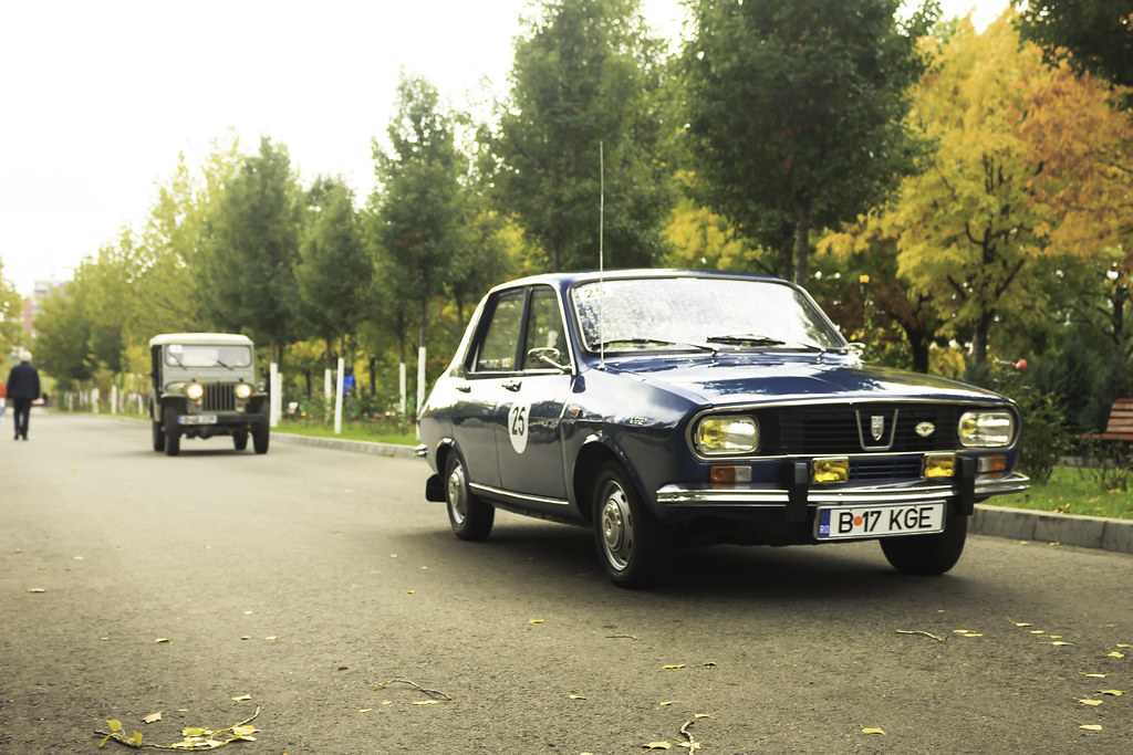 Dacia 1300 1970 live
