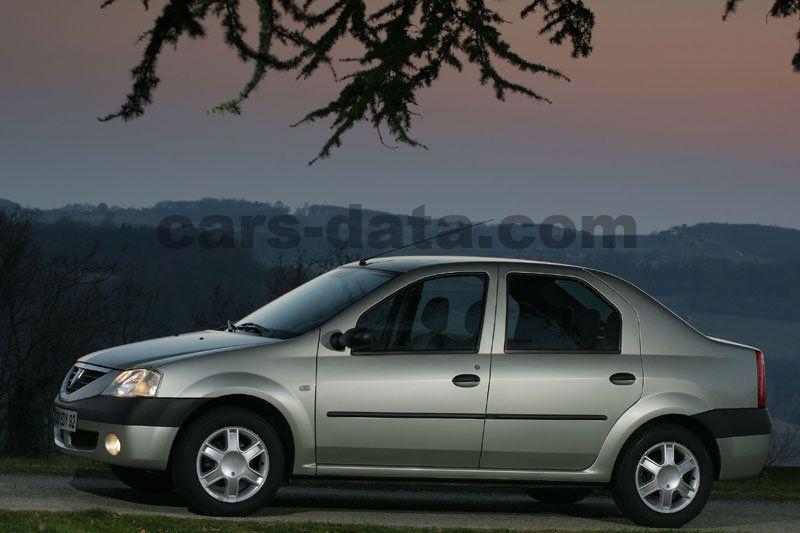 Dacia Logan 2005 cars-data com dacia-logan_516_8