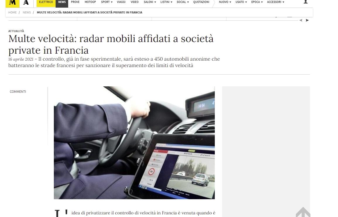 FRANCE - Milices Privées Panoptistes pour spoler les usagers et citoyens moto it 100421