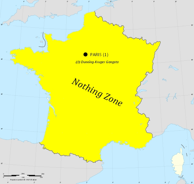 FRANCE paris & nothing zone France_1814_map-blank
