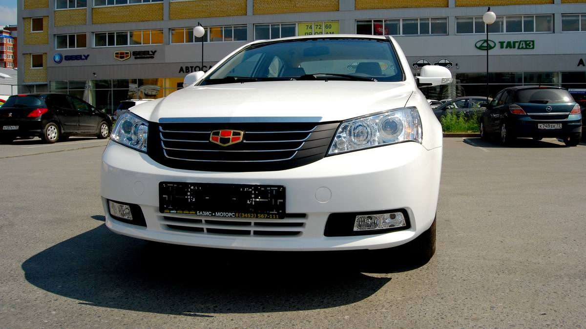 Geely Emgrand 2012 cars-directory net R