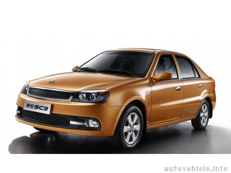 Geely Englon SC3 2012 autovehicle info R