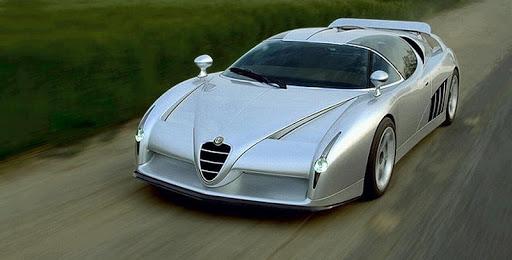 Giugiaro Alfa Romeo 164 Q4 Scighera Italdesign carstyling