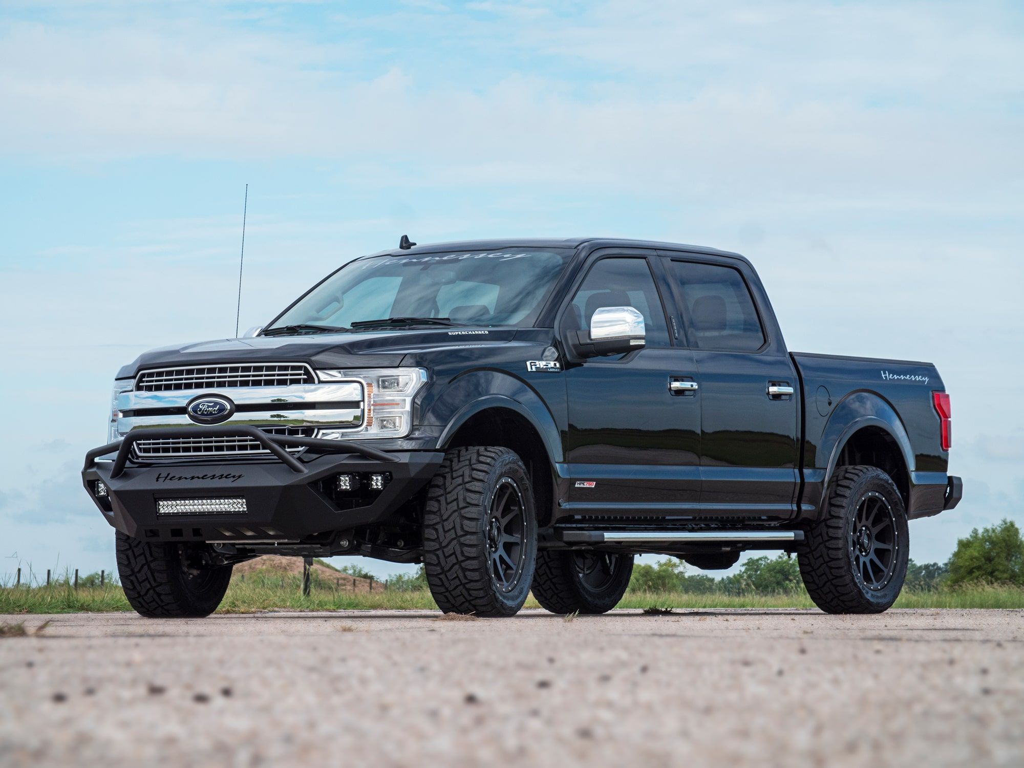 Hennessey F150 HPE750 Supercharged 2015 sale-2018-Ford-F150-HPE750-Supercharged-Sterling-McCall-1-min