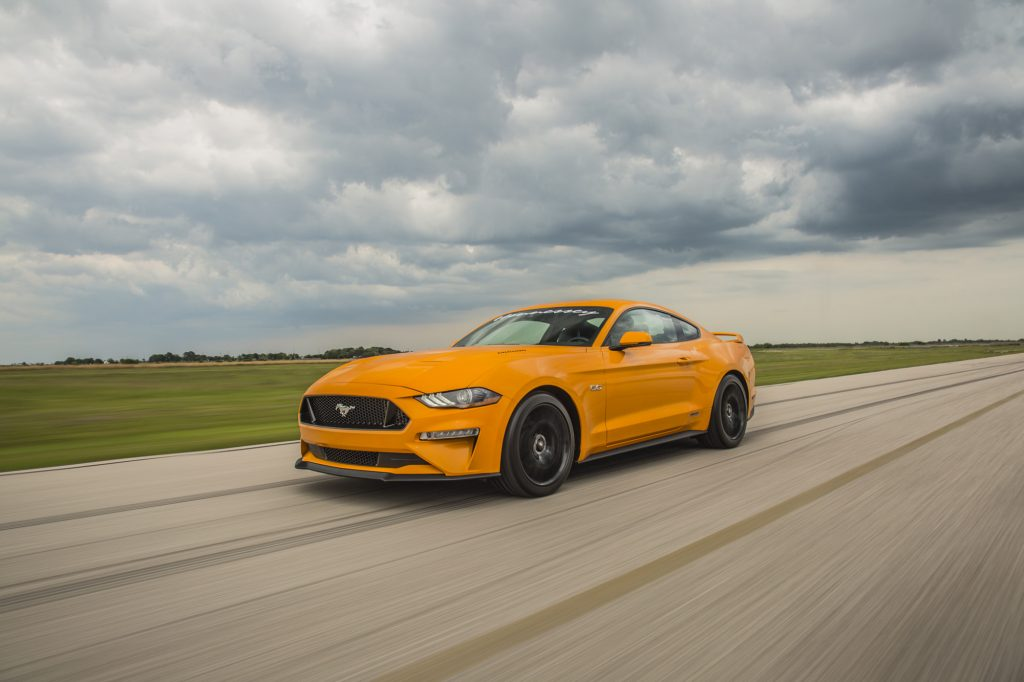 Hennessey Ford Mustang GT HPE800 Supercharged 20182018-Mustang-GT-Orange-1-1024x682