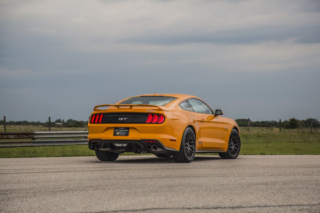 Hennessey Ford Mustang GT HPE800 Supercharged 20182018-Mustang-GT-Orange-11-1024x682